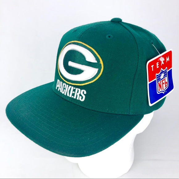 ccfc0ba63f9 1996 Green Bay Packers hat NFL VINTAGE SNAPBACK